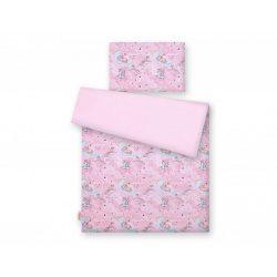 Gyerek-és ovis ágynemű huzat - Unikornis rózsaszín