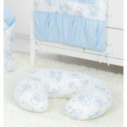 Szoptató párna - Maci kék