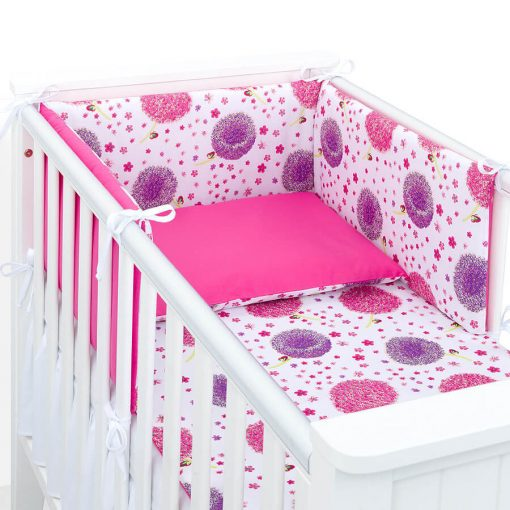 Dreamy rácsvédő - Pitypangok pink