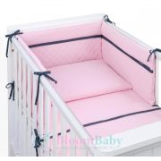 Dreamy muszlin 3 részes 90x120cm babaágynemű - Púder