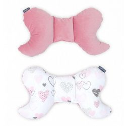 Dreamy pillangó párna - Szívecskék rózsaszín velvettel