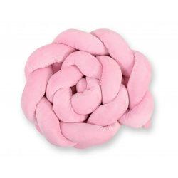 Harmony fonott rácsvédő - Rózsaszín minky