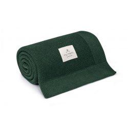 Best pamut kötött takaró - Zöld