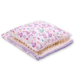 Minky takaró és párna szett  - Balerinák