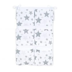 Dreamy zsebes tároló - Csillagmix szürke