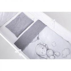 Effiki nyuszi  babaágynemű - Effiki lufival
