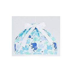 Babaszoba mennyezeti lámpa - Kék elefántok