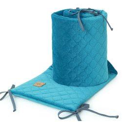 Dreamy steppelt velvet rácsvédő - Tenger kék