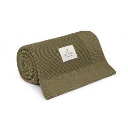 Best bambusz-pamut kötött takaró - Levendula