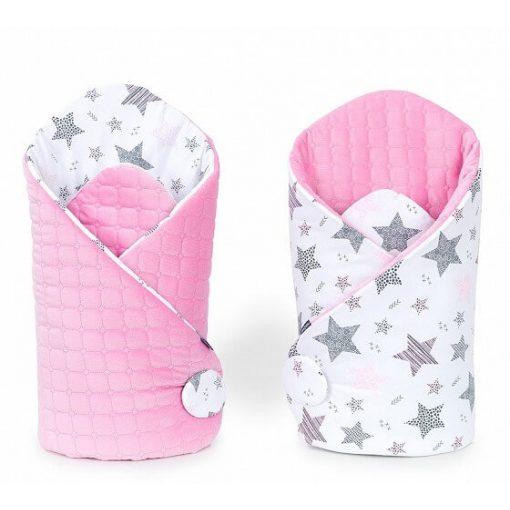 Dreamy velvet pólya - Csillagmix rózsaszín velvettel