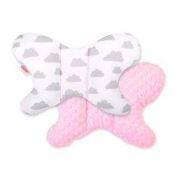 Pillangó párna - Felhők rózsaszín