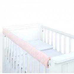 Dreamy fog védő huzat babaágyra - Barack steppelt velvet