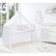 Dreamy baldachin babaágyhoz - Fehér