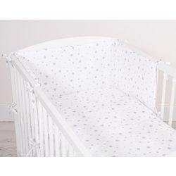 Harmony 3 részes babaágynemű - Szürke csillagok