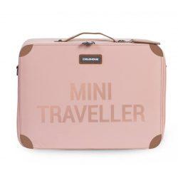 Exclusive gyerek bőrönd - Rosegold