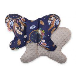 Pillangó párna - Álomfogó kék