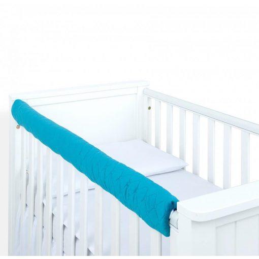 Dreamy fog védő huzat babaágyra - Tenger kék steppelt velvet