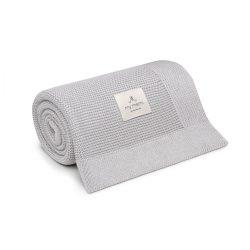 Best pamut kötött takaró - Szürke