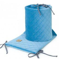 Velvet steppelt kék rácsvédő