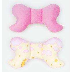 Dreamy pillangó párna - Rózsaszín felhők minkyvel