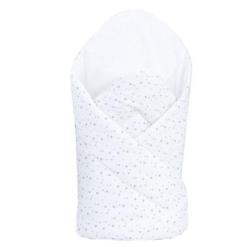 Dreamy puha pólya - Mini szürke csillagok