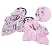 Harmony babaülés-és babakocsi takaró - Rózsakert