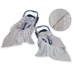 Harmony babaülés-és babakocsi takaró - Szürke csillagok