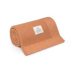 Best bambusz-pamut kötött takaró - Zöld
