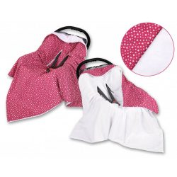 Harmony babaülés-és babakocsi takaró - Vörös csillagok