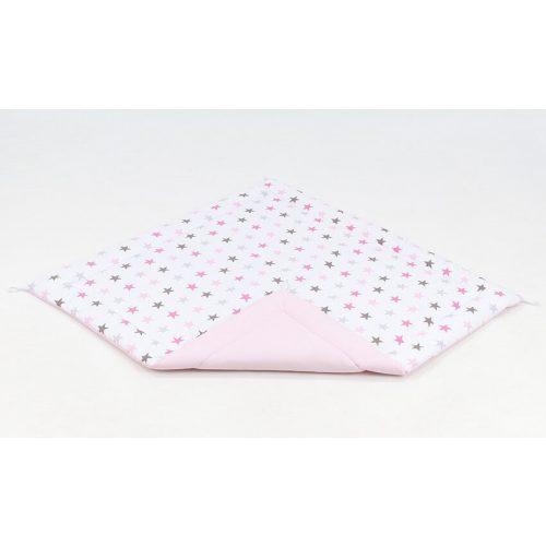 Játszószőnyeg - Rózsaszín csillagok