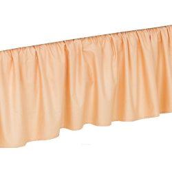 Ágyszegély hímzett ágynemű - Narancs