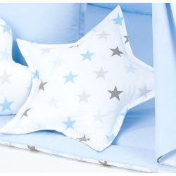 Dreamy formapárna csillag alakú - Kék csillagok