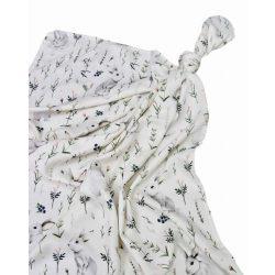 Luxury bambusz takaró 120x120cm - Gömbhal