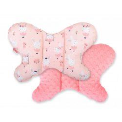 Pillangó párna - Balerina nyuszik rózsaszín