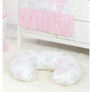 Szoptató párna - Maci rózsaszín