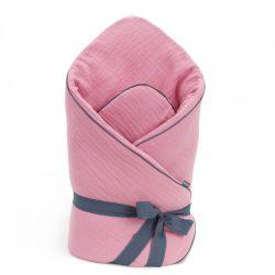 Dreamy muszlin pólya - Rózsaszín