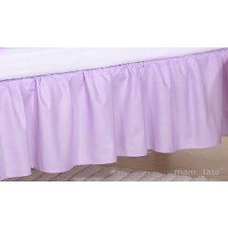 Ágyszegély hímzett ágynemű - Lila