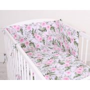 Harmony 3 részes babaágynemű - Rózsakert