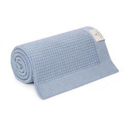 Best eukaliptusz kötött takaró - Kék