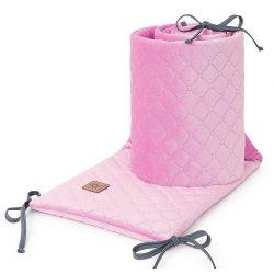 Dreamy steppelt velvet rácsvédő - Rózsaszín