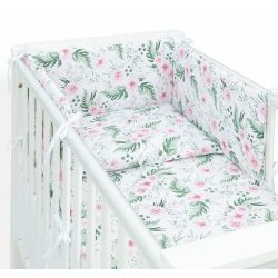 Dreamy 3 részes babaágynemű - Rózsaskert