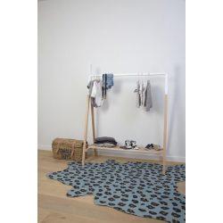 Exclusive baba-és gyerekszoba szőnyeg - Blue leopard