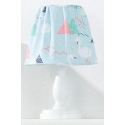 Babaszoba éjjeli lámpa - Hattyú kék