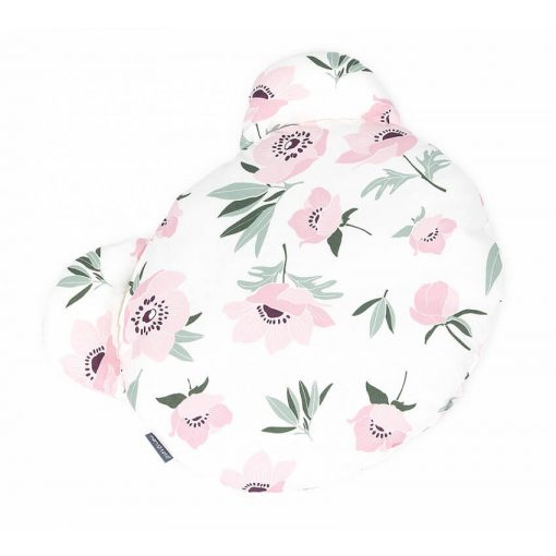 Dreamy Maci párna - Virágok ekrü