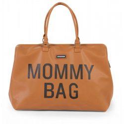 Exclusive táska anyukáknak - Mommy Bag barna bőrhatású