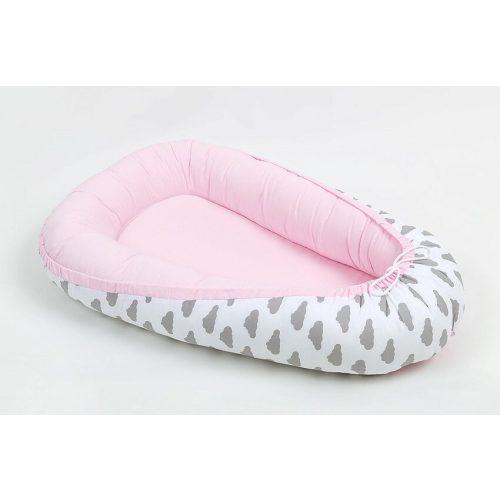 Dreamy babafészek - Felhők rózsaszínnel