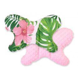 Harmony pillangó párna - Trópusi virágok