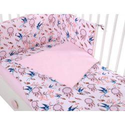 Harmony 3 részes babaágynemű - Álomfogó rózsaszín