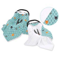 Harmony babaülés-és babakocsi takaró - Erdő állatai