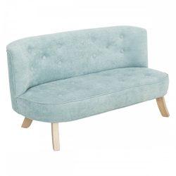 Bunny gyerek kanapé - Dusty blue